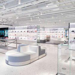 طراحی فروشگاه نایک در نیویورک