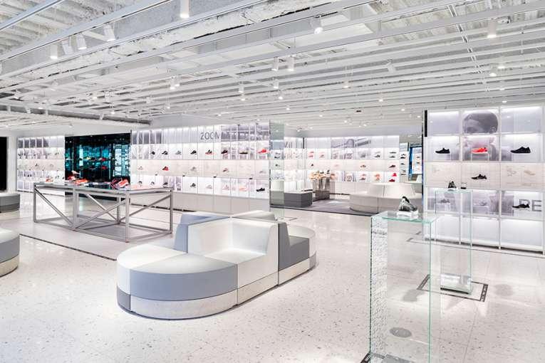 طراحی فروشگاه تجاری