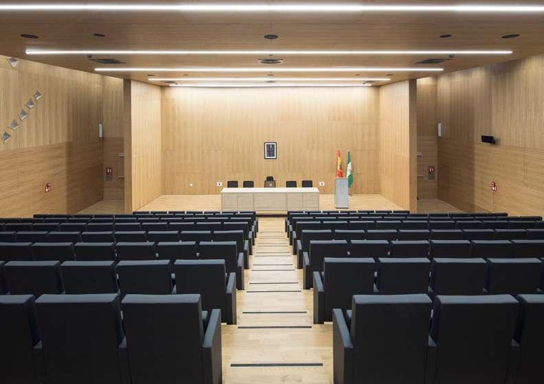 طراحی داخلی ساختمان دادگستری