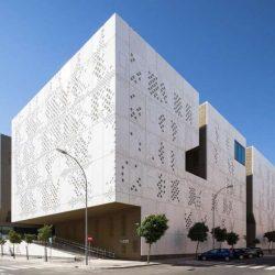 طراحی کاخ دادگستری در اسپانیا
