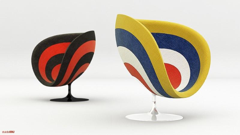 خلاقیت در طراحی صندلی آکوستیکی