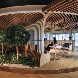 طراحی داخلی دفتر کار هوشمند در دبی