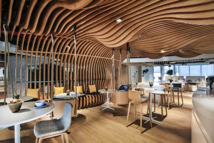 طراحی داخلی دفتر کار هوشمند