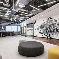 طراحی داخلی شرکت نرم افزاریی در چین