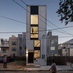 طراحی آپارتمان برج کوچک
