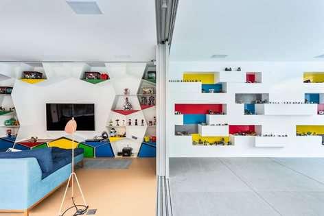 طراحی خانه اسباب بازی