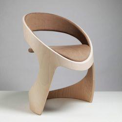 طراحی خلاقانه صندلی لوله ایی شکل