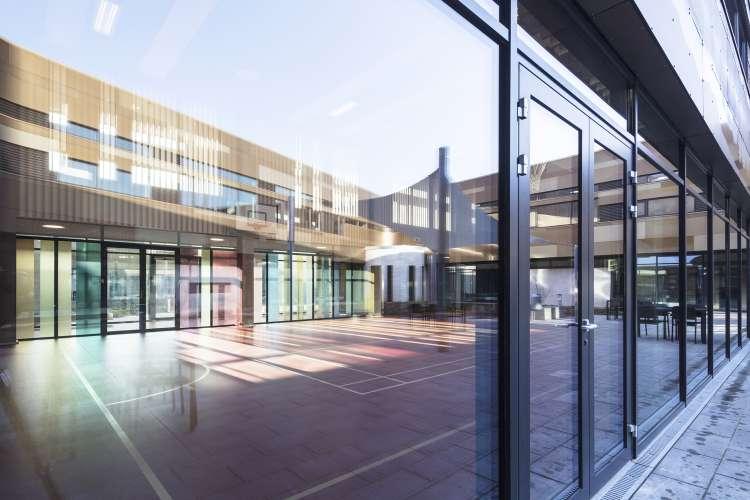 معماری بیمارستان روانپزشکی
