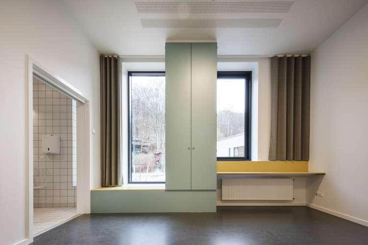 معماری بیمارستان روانی