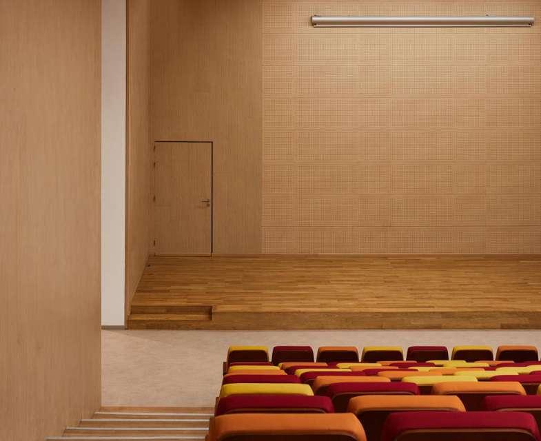 طراحی مدرسه راهنمایی دیوار دانش