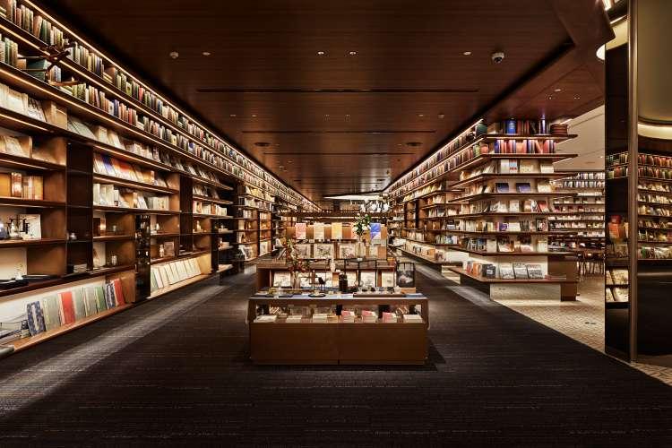 معماری مدرن کتابفروشی