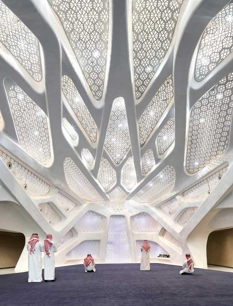 طراحی مدرن مسجد