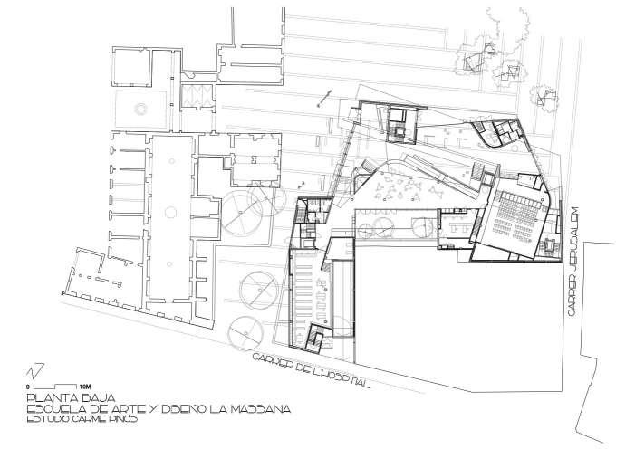 پلان دانشکده هنر و طراحی