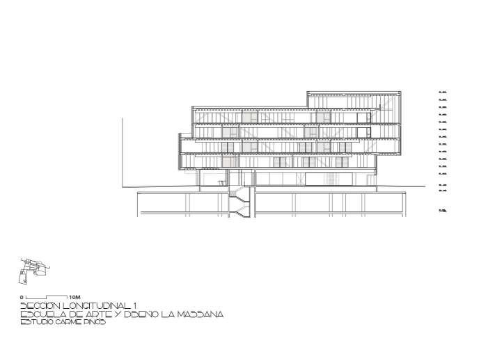 پلان دانشکده هنر