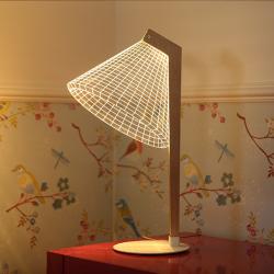 طراحی خلاقانه لامپ آکریلیکی سه بعدی