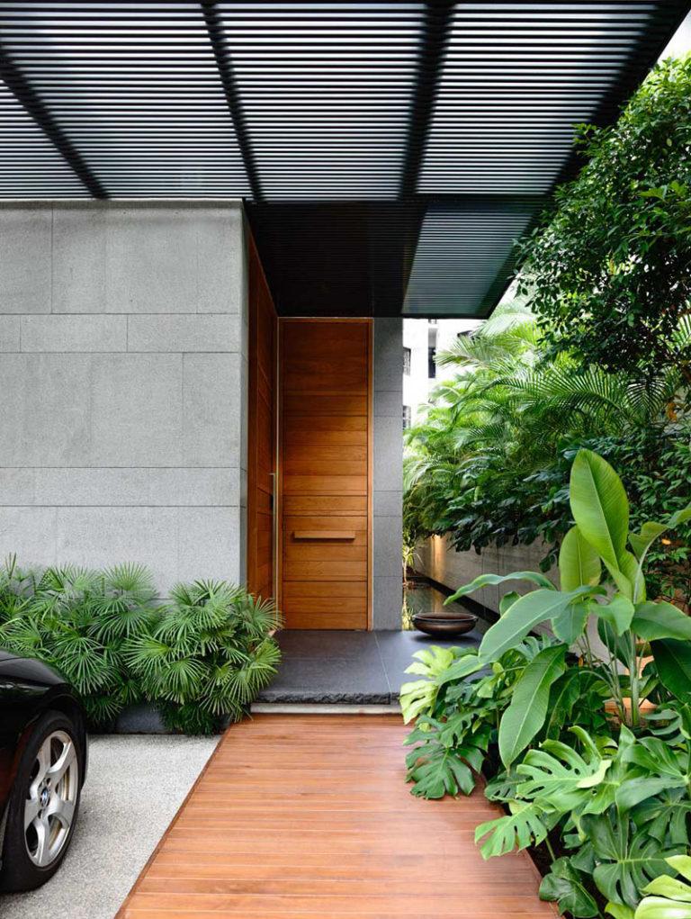 طراحی درب ورودی