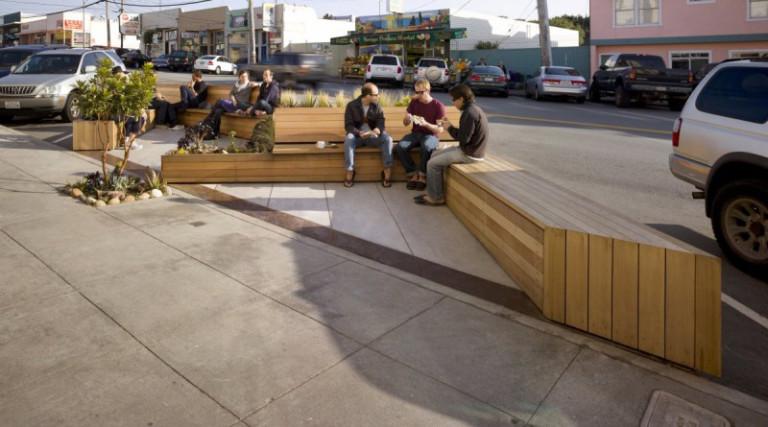 خلاقیت در طراحی نیمکت فضا های بیرونی