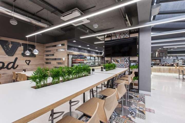 طراحی رستوران مدرن