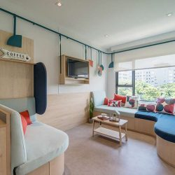طراحی داخلی خوابگاه دانشجویی با فضایی کاربردی و انعطاف پذیر
