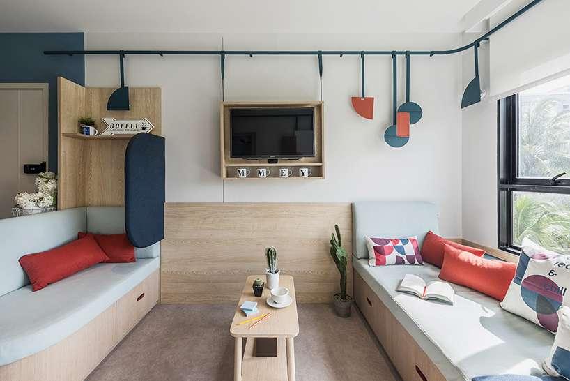طراحی داخلی خوابگاه دانشجویی