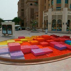 ایده فضا سازی شهری با ماسه
