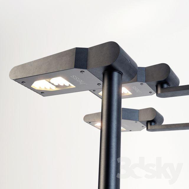 آبجکت لامپ شهری