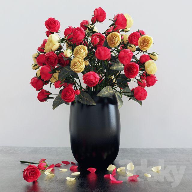 آبجکت گیاه گلدانی و آپارتمانی
