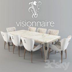 دانلود مجموعه مدل سه بعدی ست میز و صندلی