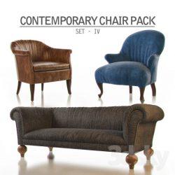 دانلود مجموعه آبجکت مبل و صندلی با طراحی مدرن