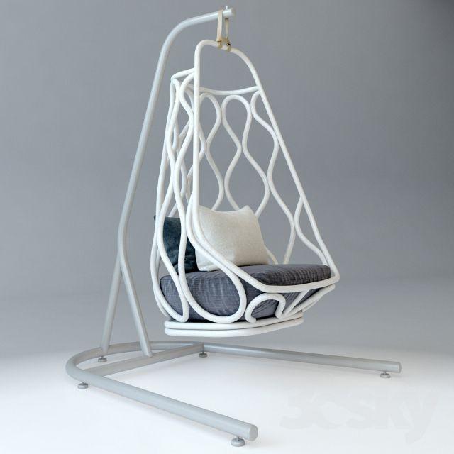 مجموعه مدل سه بعدی صندلی مدرن