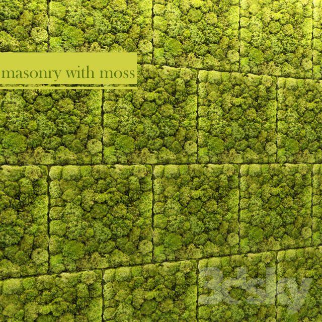 آبجکت دیوار پوش گیاهی