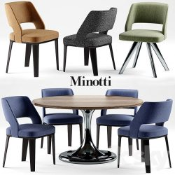 دانلود مجموعه مدل میز و صندلی با کاربری متنوع