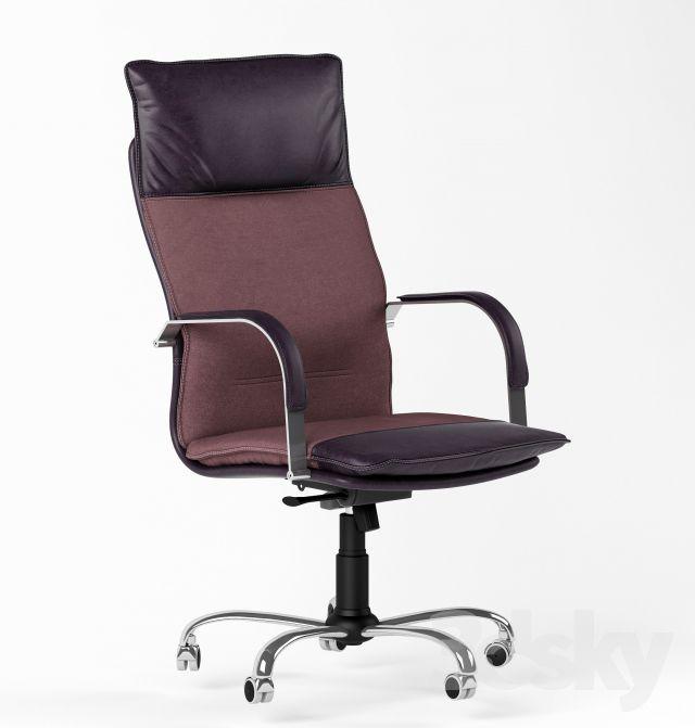مدل سه بعدی صندلی اداری