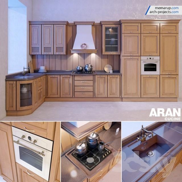 مدل سه بعدی ست آشپزخانه