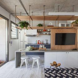 10 نمونه طراحی آپارتمان با متراژ کم