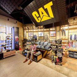 طراحی داخلی فروشگاه با ایده مفهومی برند CAT