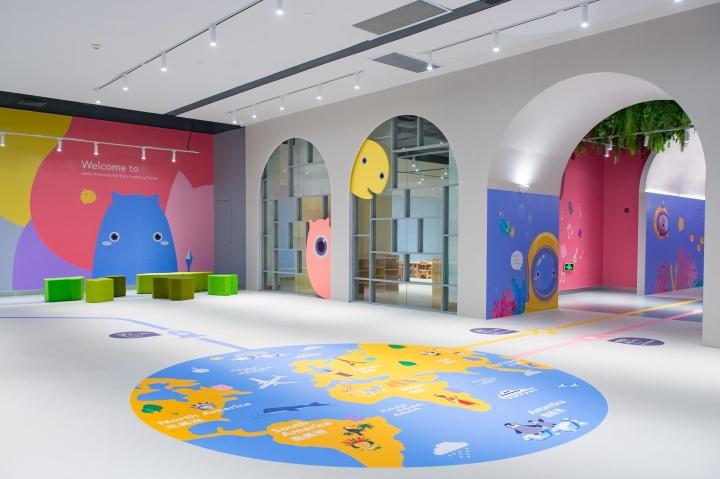 طراحی داخلی مرکز آموزشی کودکان