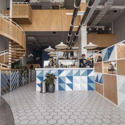 طراحی داخلی کافی شاپ مدرن و روستایی