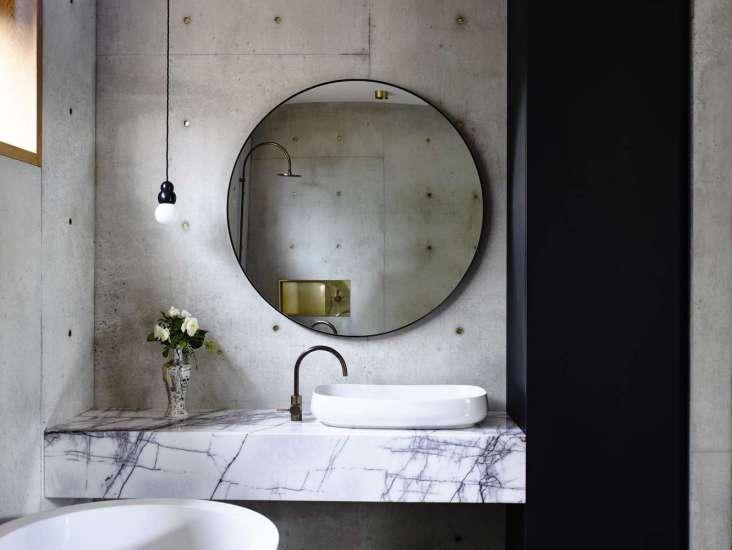 کاربرد بتن در حمام و دستشویی