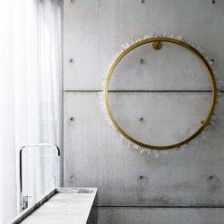26 طراحی سرویس بهداشتی و حمام بتنی