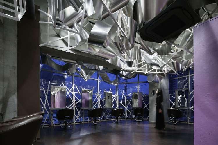 طراحی داخلی سالن زیبایی مدرن