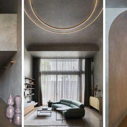 طراحی آپارتمان مدرن دراماتیک در استرالیا