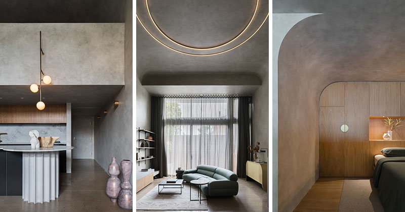 آپارتمان مدرن دراماتیک