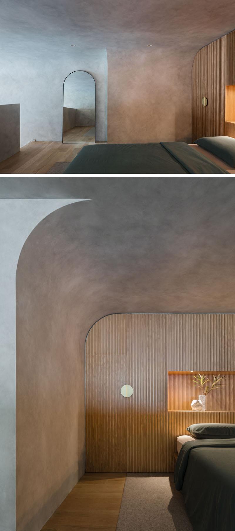 طراحی آپارتمان مدرن دراماتیک