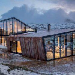 طراحی خانه ییلاقی در نروژ