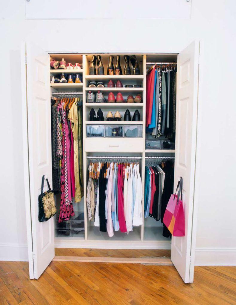 افزایش فضای کمد لباس