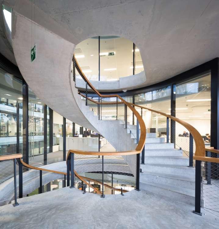 طراحی راه پله توسط Herzog and de Meuron's