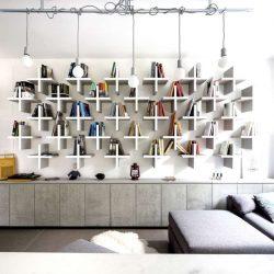30 ایده خلاقانه طراحی کتابخانه برای خانه و دفتر کار