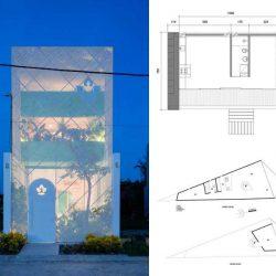 30 نمونه طراحی پلان خانه زیر 100 متر