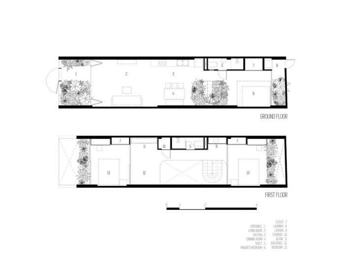طراحی پلان خانه زیر 100 متر